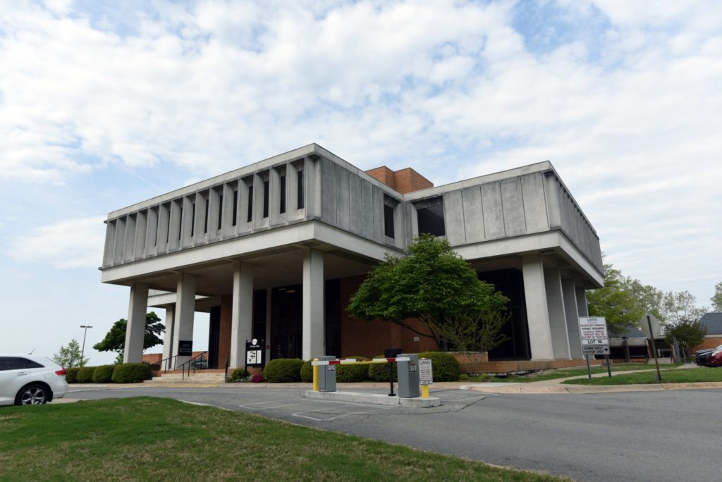 Admin West building at UAMS